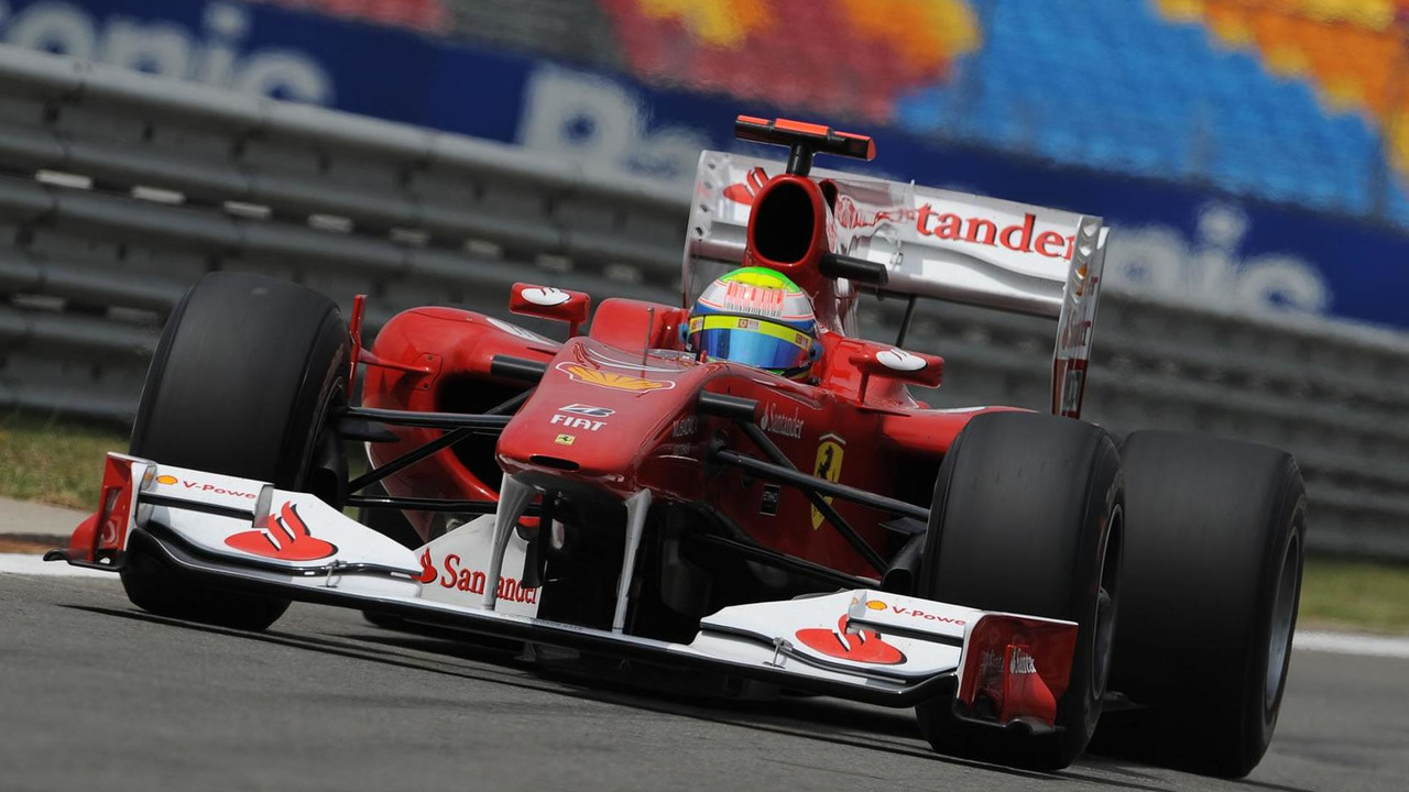 Felipe Massa during 2010 Turkish Grand Prix