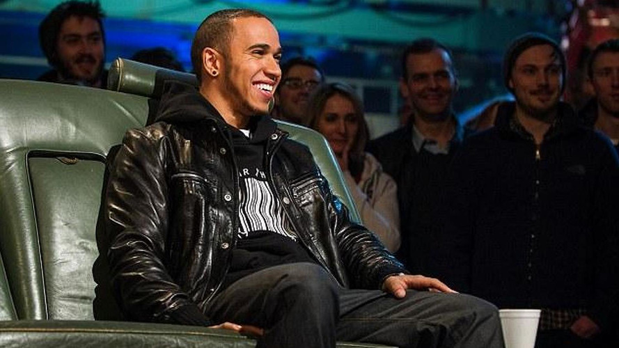 'Risk taker' Hamilton beats Vettel on Top Gear