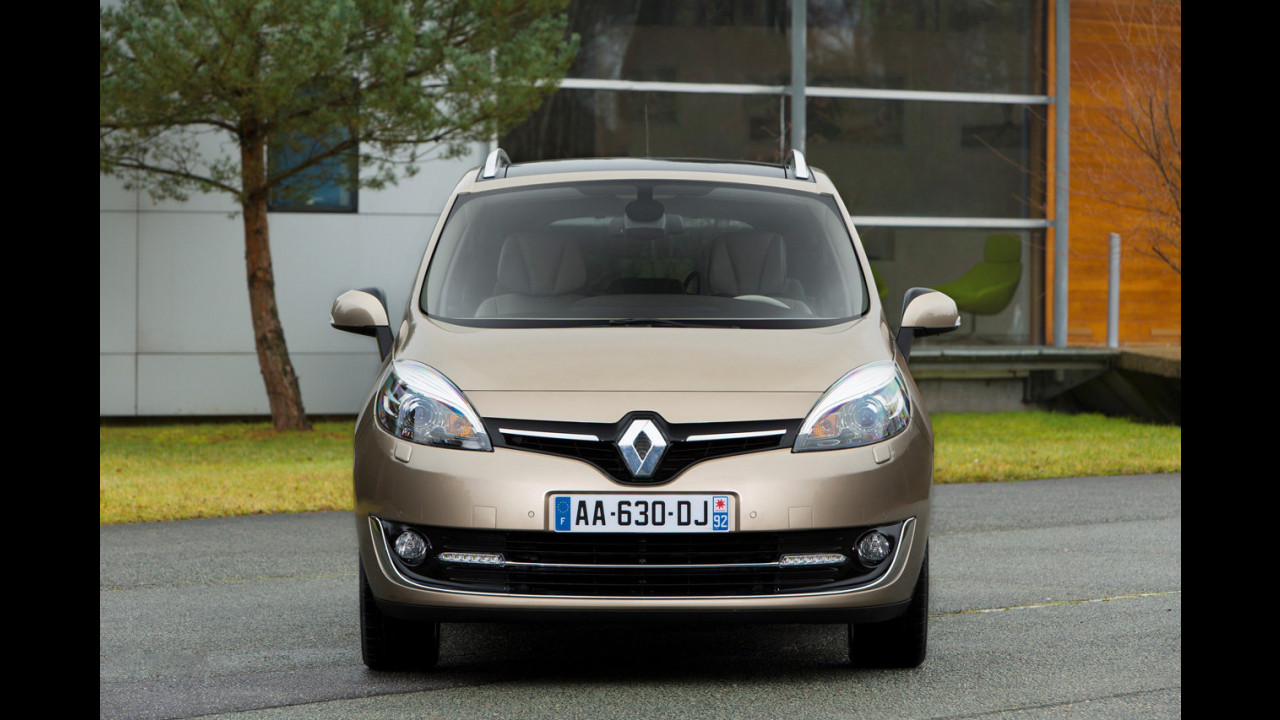 Renault Scénic restyling