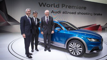 Audi allroad shooting brake concept live in Detriot