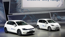 Volkswagen e-up! and e-Golf electrify Frankfurt Motor Show