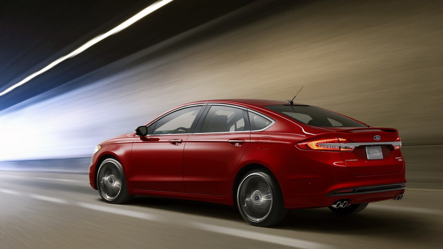 """325-hp Ford Fusion Sport fills """"unmet needs"""" of midsize buyers"""