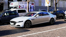 Aston Martin Lagonda stands out in Paris traffic