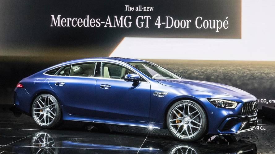 Spend More Than 30 Minutes With The Mercedes-AMG GT 4-Door Coupe