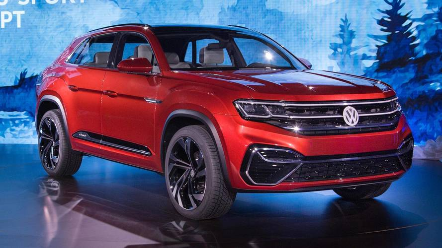 Volkswagen Atlas Cross Sport Concept Previews New Five-Seat SUV