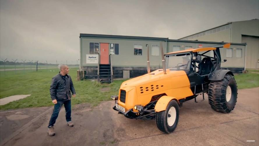 Check Out Top Gear's 500-HP Trak-Tor In Detail