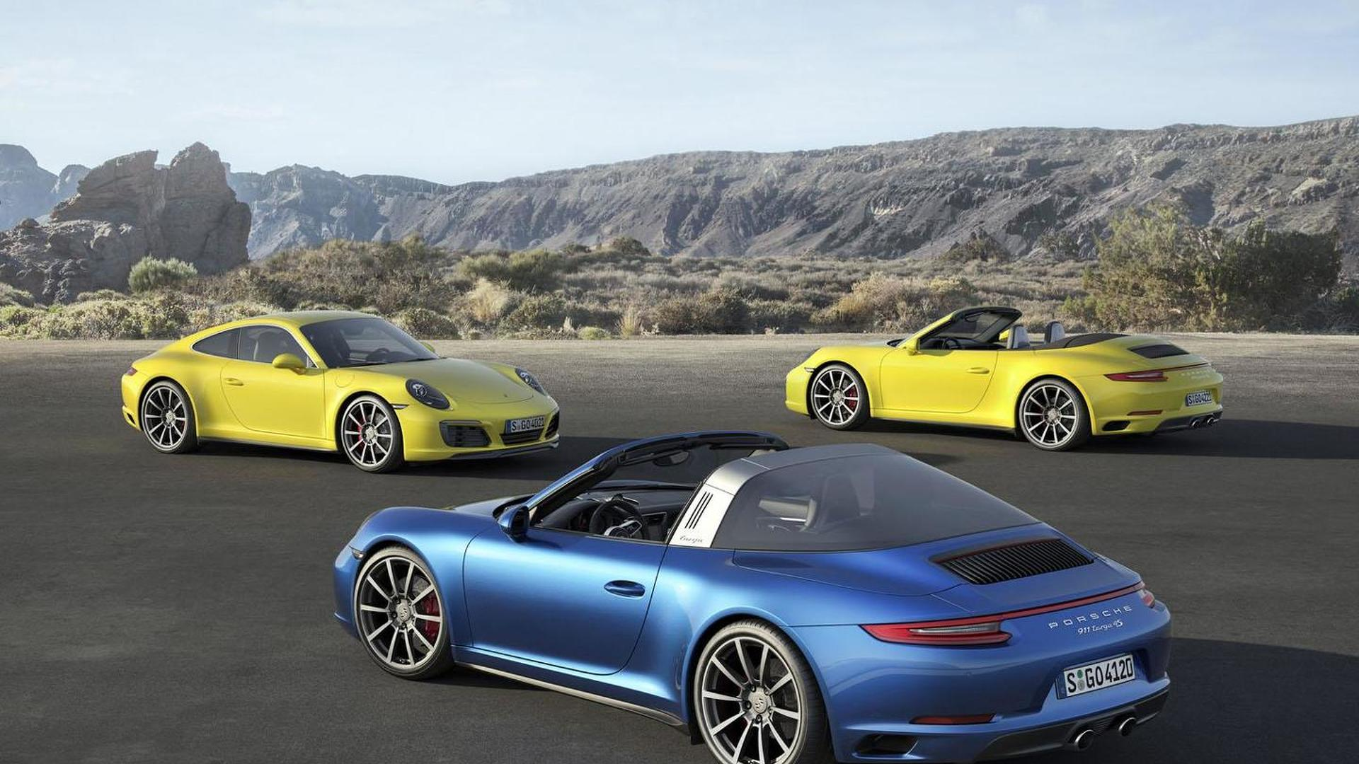 Porsche 911 Carrera S Gets 30 hp Power Boost, New Equipment