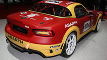 Abarth 124 Spider Rally debuts in Geneva with 300 hp