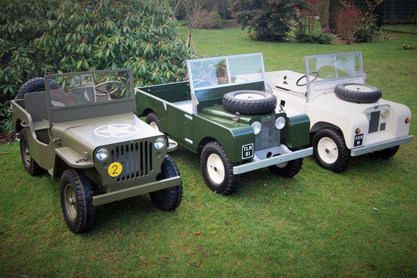 Children S Land Rover Electric Car