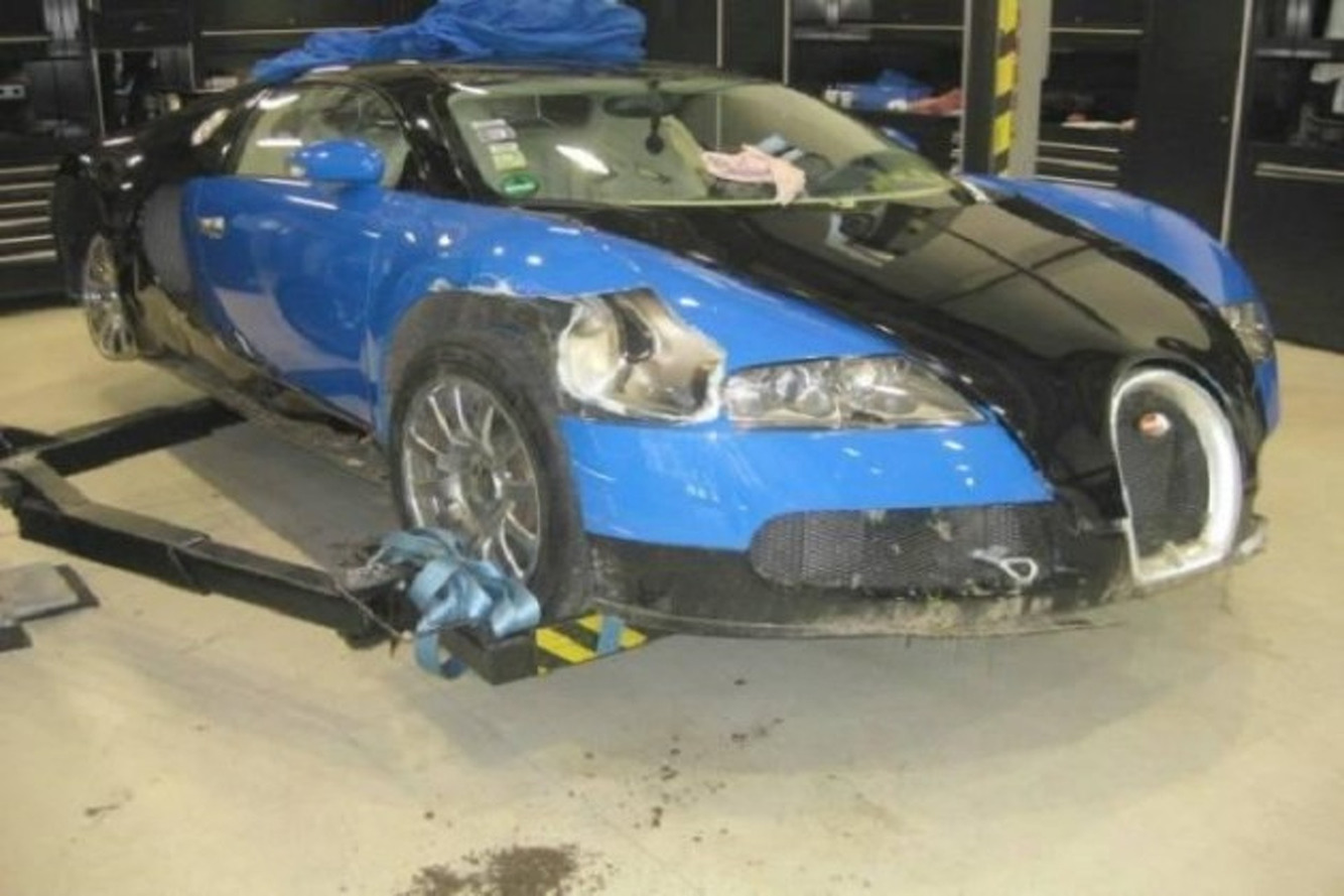 This Crashed Bugatti Veyron Can Be Yours For Just $250K