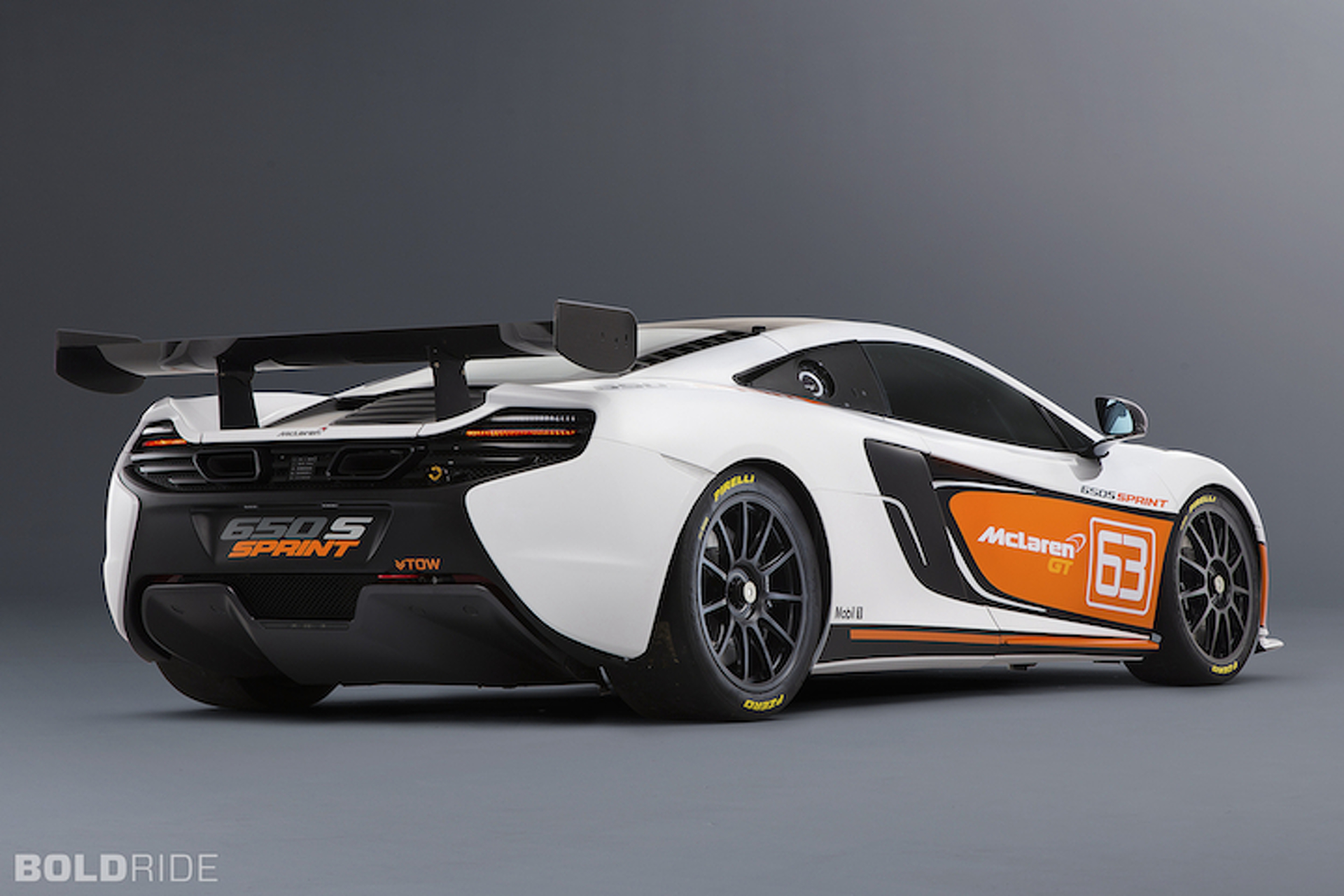 McLaren 650S Sprint Races Towards Pebble Beach Debut