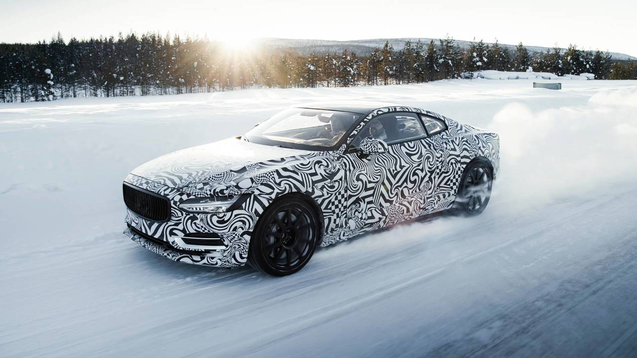 Polestar 1 prototype winter test