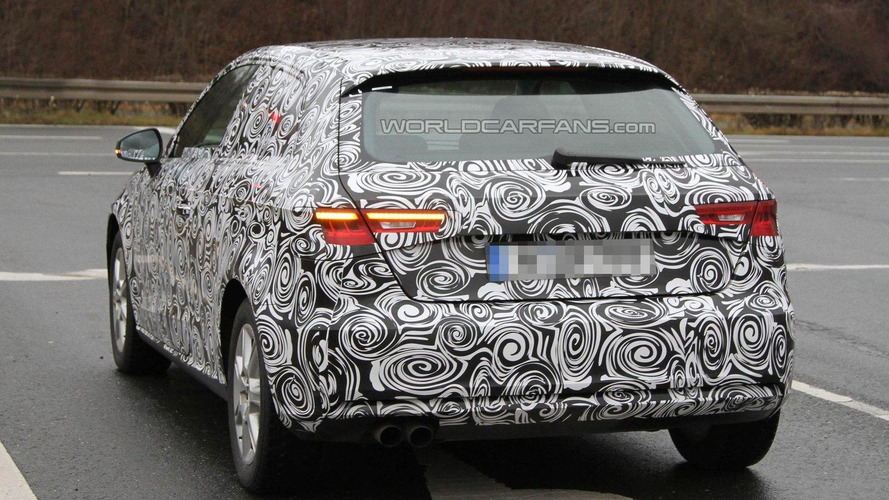 2013 Audi A3 spied showing new details