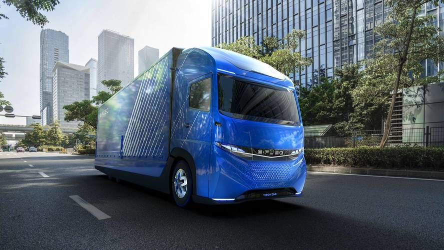 Daimler Unveils New Vision One Electric Semi Truck