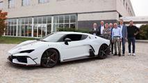 First Italdesign Zerouno delivered