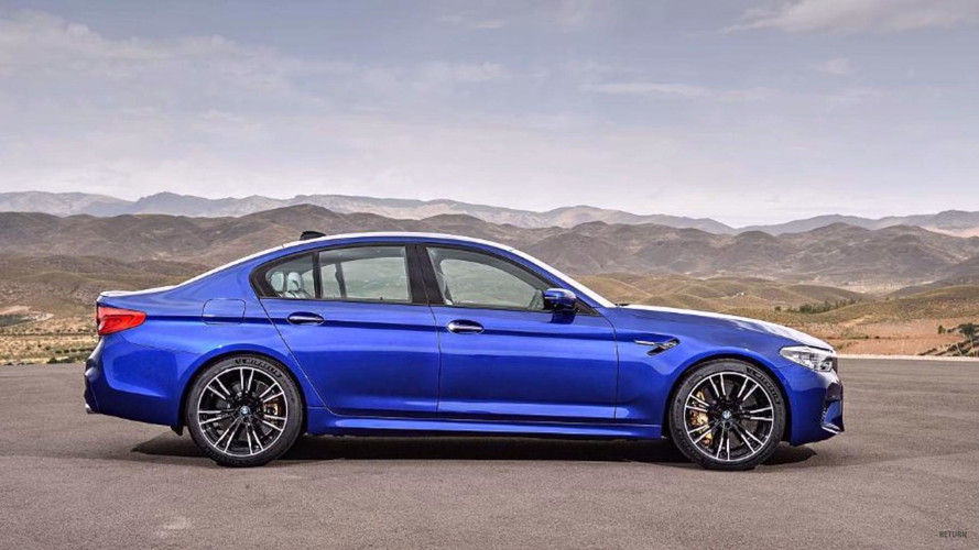 2018 bmw website. beautiful bmw 2018 bmw m5 leaked photo  on bmw website