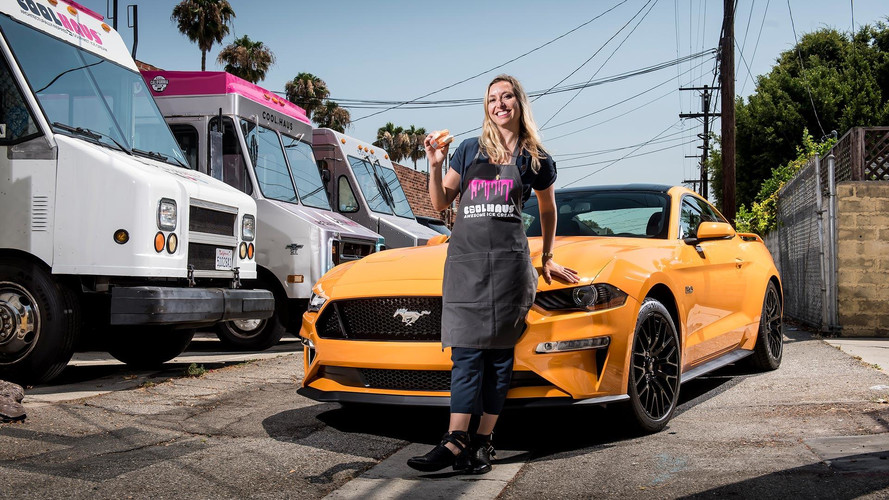 I Scream, You Scream, We All Scream for Ford Mustang Ice Cream