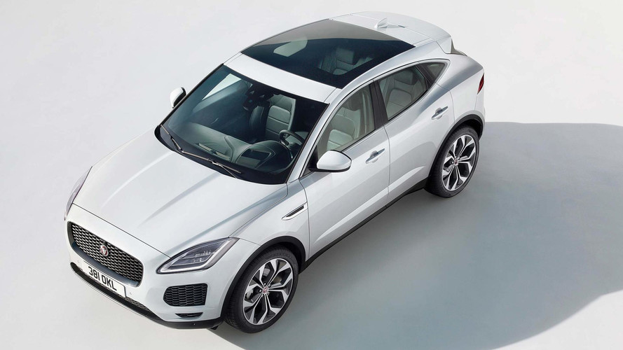 New Jaguar E Pace Small SUV Revealed In London