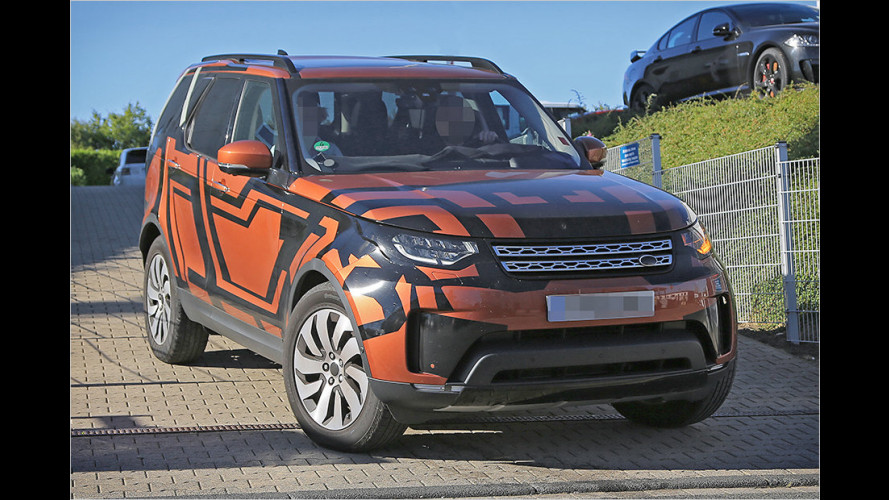 Erwischt: Land Rover Discovery