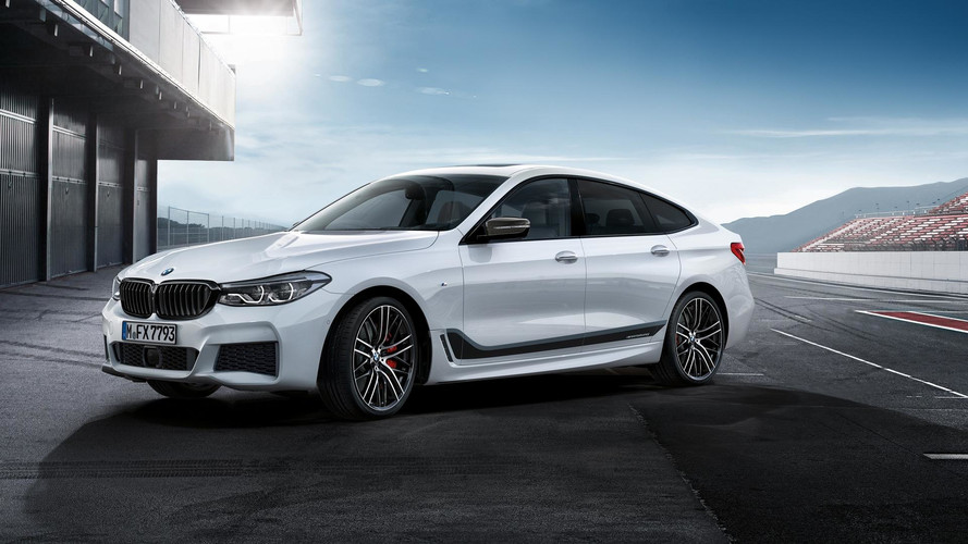 BMW 6 Series Gran Turismo Suits Up With M Performance Clothing