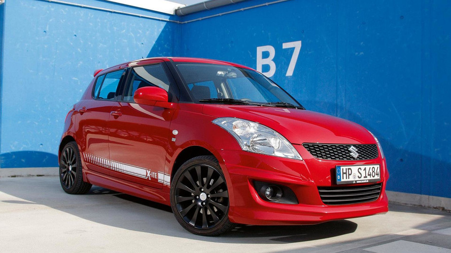 Suzuki Swift X-ITE launched in Germany for 15,490 euros