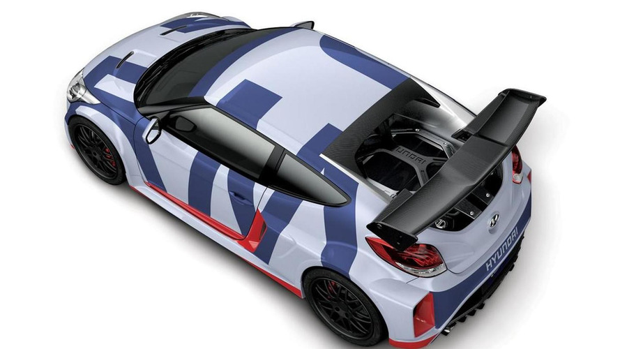 Rear mid-engine Hyundai Veloster Midship concept breaks cover with 300 PS