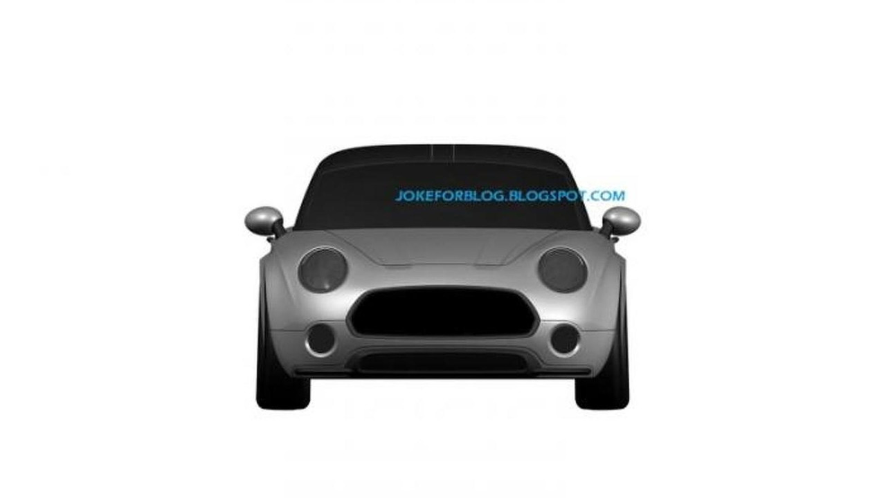 MINI Superleggera Vision patent filing