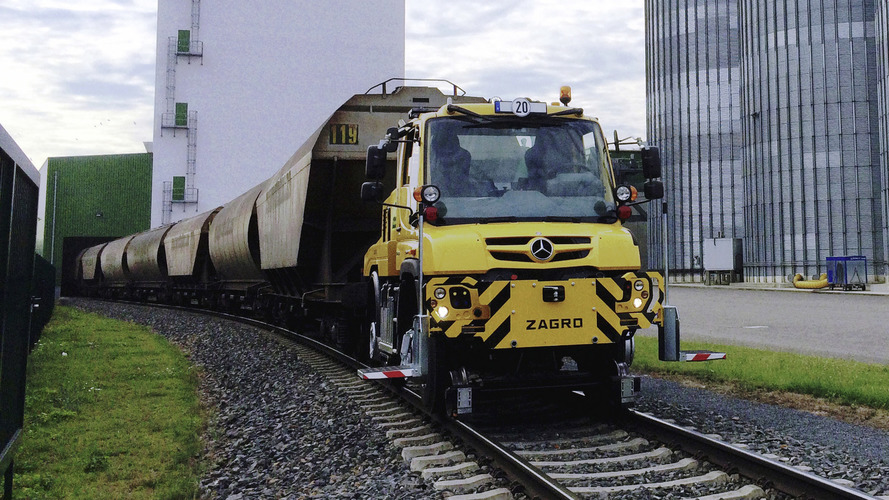 Mercedes Unimog gets even cooler with railroad-ready model