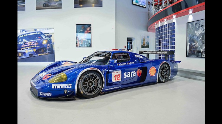 $10 Million Will Get You This Championship-Winning Maserati Race Car
