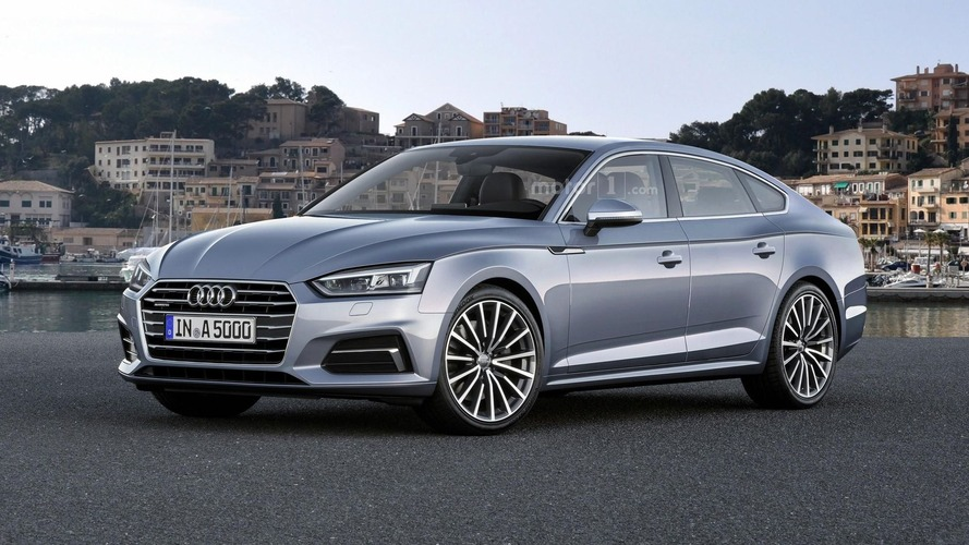 2018 Audi A5 Sportback render previews plausible future