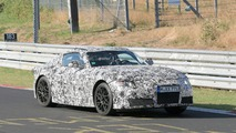 Toyota Supra Spy Photos at Nurburgring