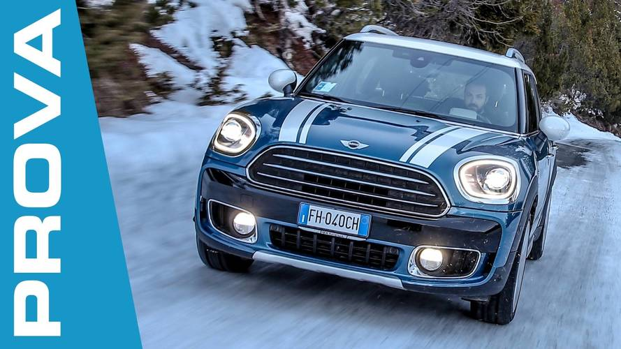 MINI Countryman ALL4, integrale quando serve