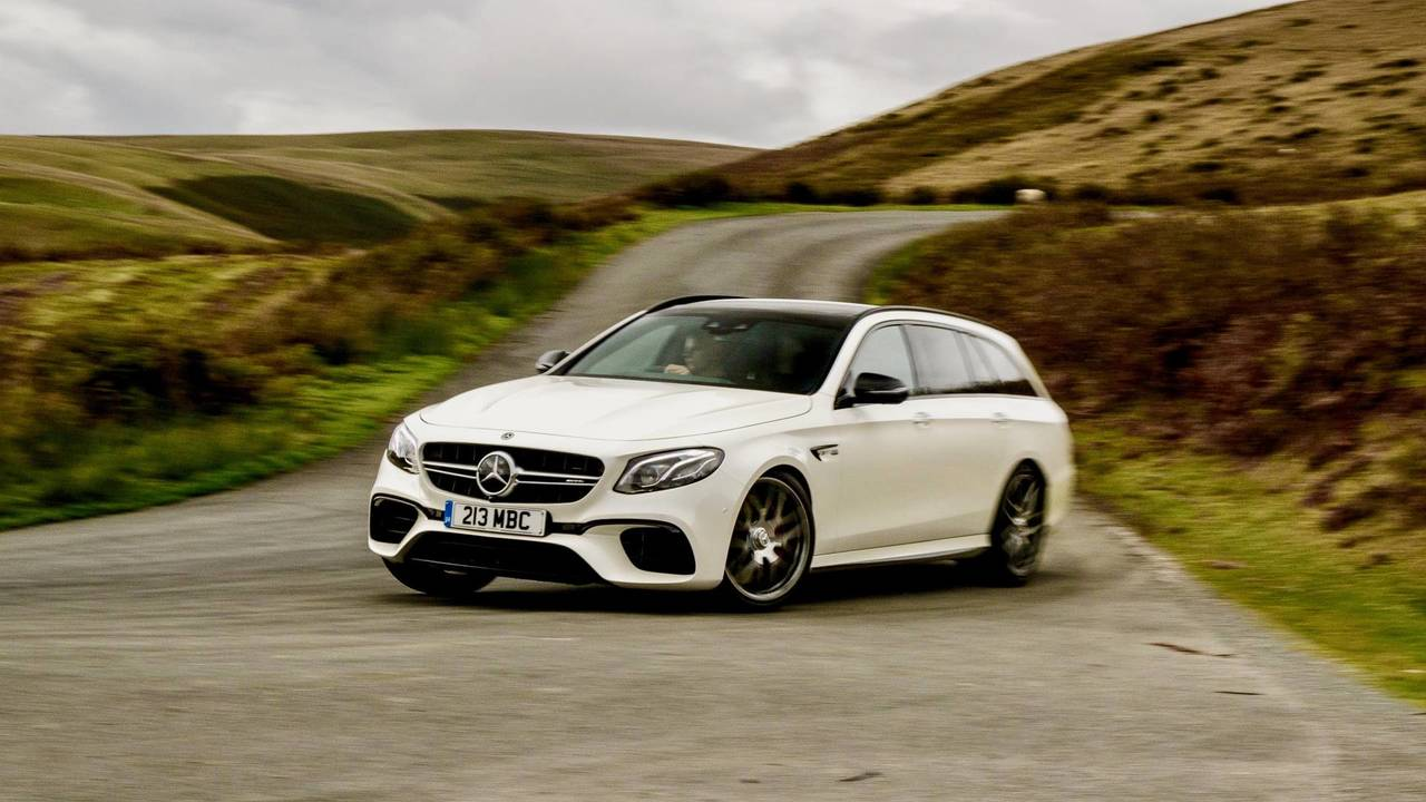 2. Mercedes-AMG E 63 S Break : 3,5 secondes