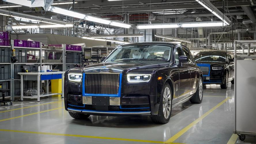 First Produced 2018 Rolls-Royce Phantom Goes On Charity Auction