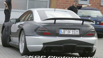 Mercedes SL Black Series Spy Photo