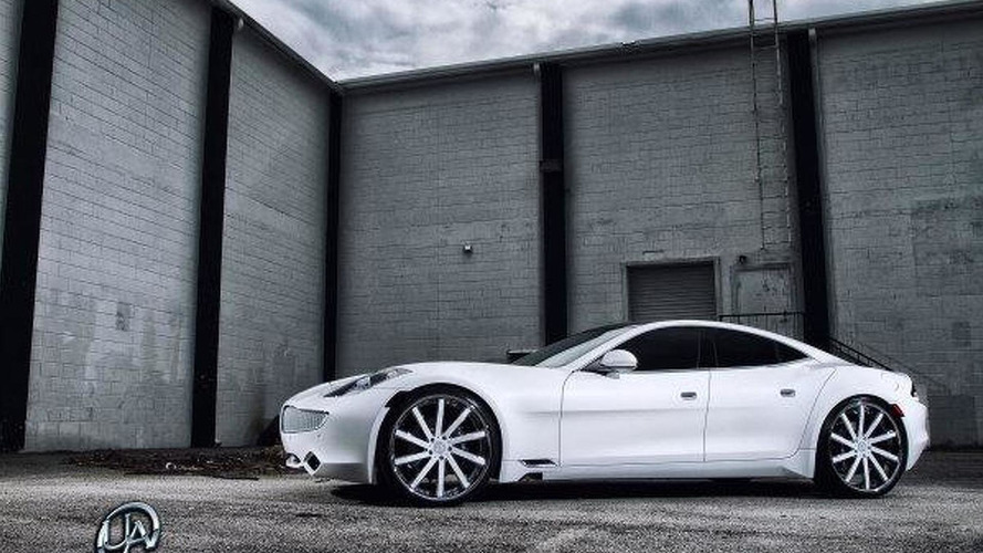 Fisker Karma modified by Ultimate Auto