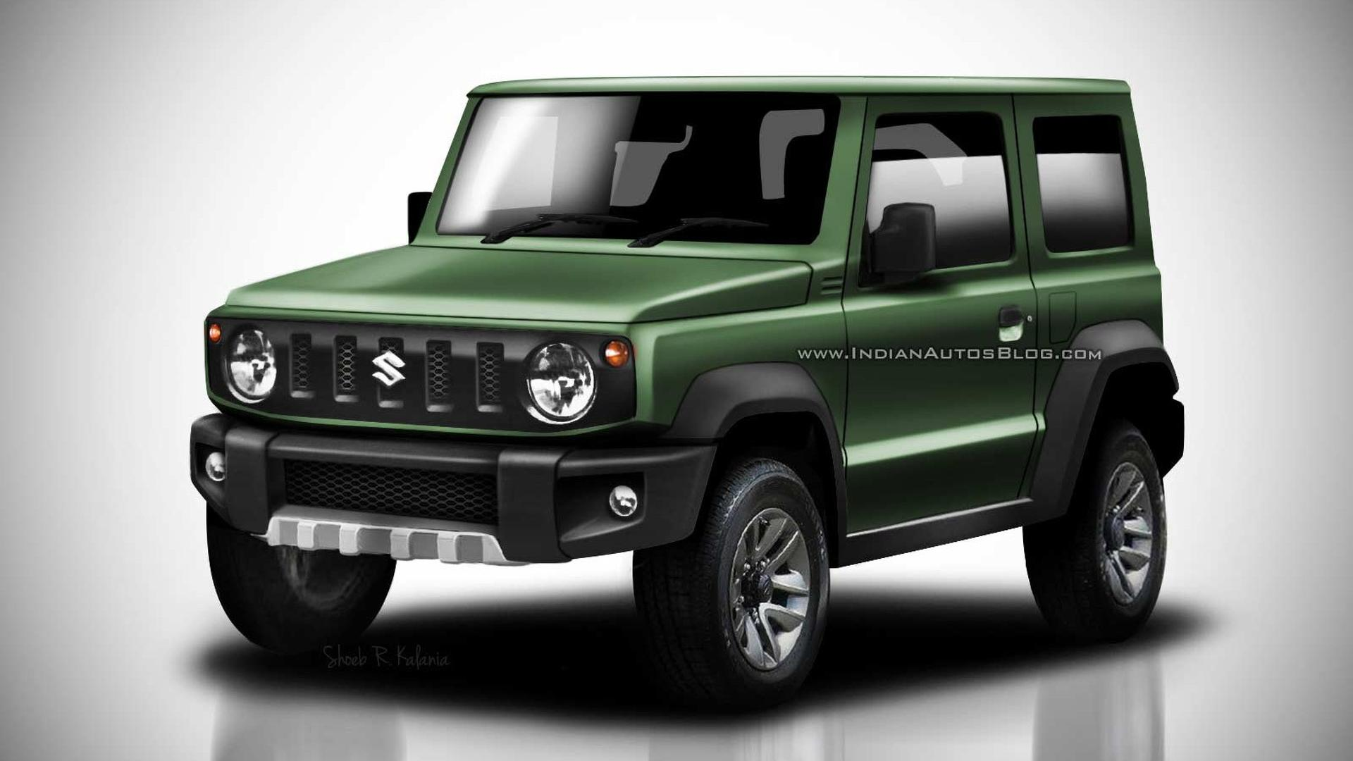 2018 Suzuki Jimny Leaked Images Go High-Res In Colorful ...