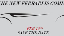 Ferrari 149M Project teaser photo