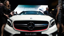 2014 Mercedes-Benz GLA 45 AMG live at 2014 NAIAS