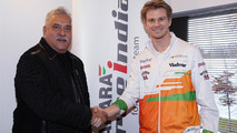 Force India still to name Hulkenberg's teammate