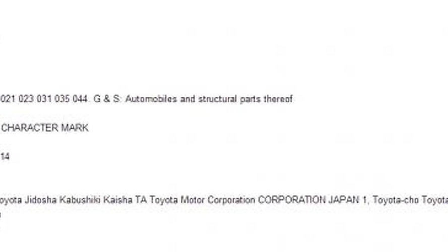 Toyota files a new trademark application for the Supra moniker