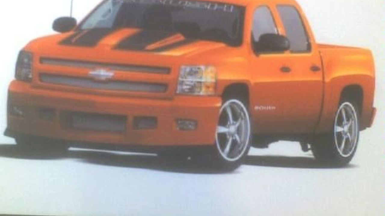 ROUSH Silverado Sketch Leaked
