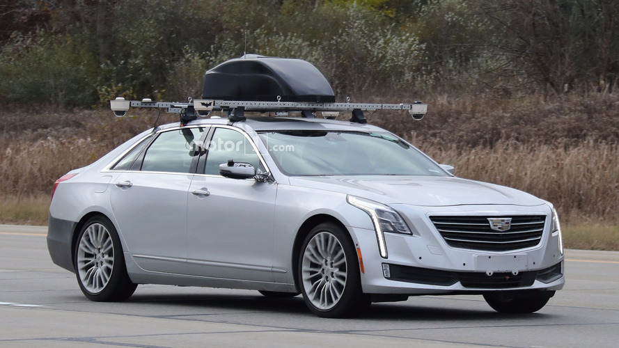 Cadillac CT6 tests Batman-branded Super Cruise semi-autonomous tech