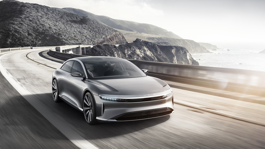 Lucid Motors introduces Air electric sedan with 400-mile range