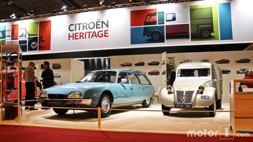 PHOTOS - Citroën et DS au Salon Rétromobile 2017