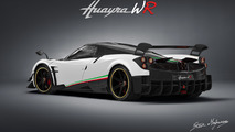 Pagani Huayra Weight Race render