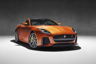 Jaguar's New 200MPH F-Type SVR is a Sports Car on Steroids
