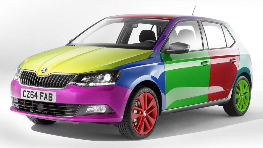 Skoda launches industry's first touch-operated body color change