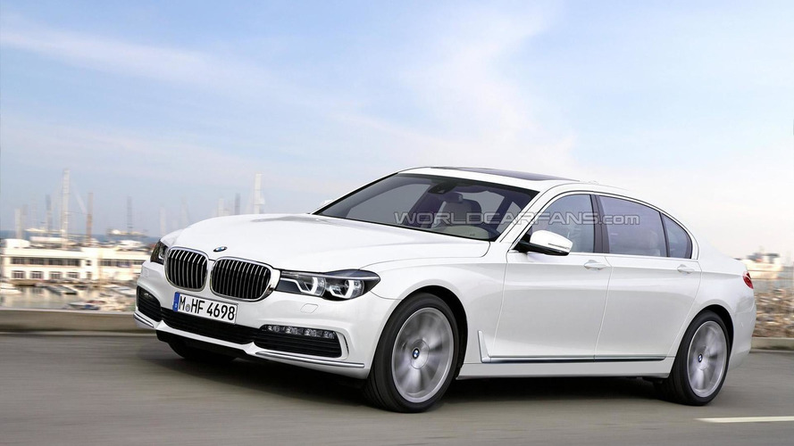 2016 BMW 7-Series rendered based on spy shots
