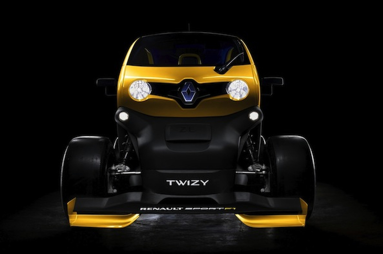 Twizy Renault Sport F1: Insane in Every Sense of the Word